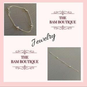 Jewelry - 🆕Sterling Silver Star Station Bracelet